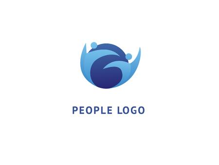 Logo design globe vector template. Logo design Earth vector template simple sign