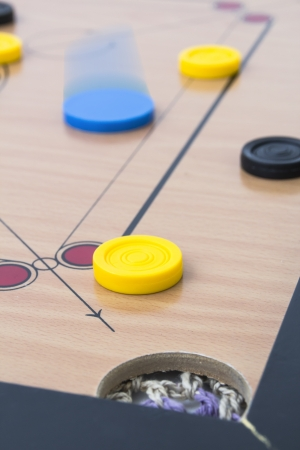 targetting: targetting carrom coin