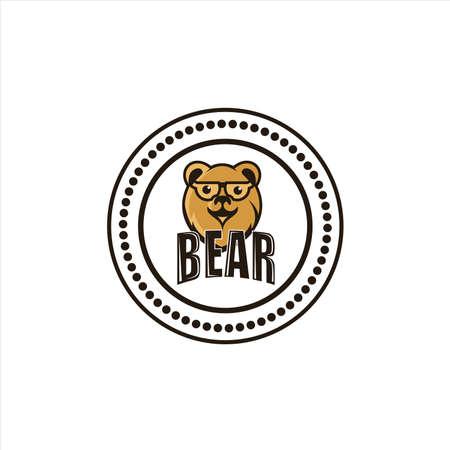 bear head vintage