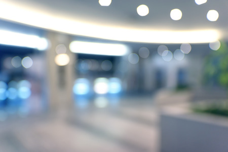 Blurred abstract background interior view business projects
