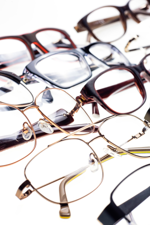 Beautiful modern glasses all shapes and sizes