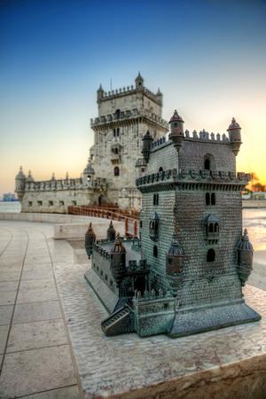 Lisbon Tower Belem High dynamic range