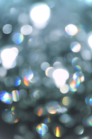 Abstract lighting Bokeh defocused background from cristal light fixture