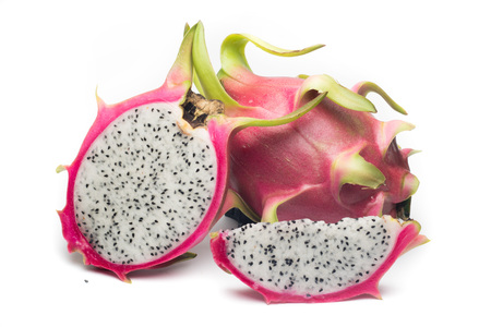 Dragon fruit isolated on white background Reklamní fotografie