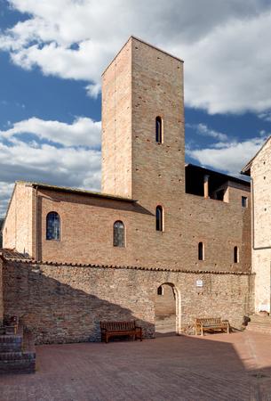The native house of Boccaccio in Certaldo, Firenze, Italy