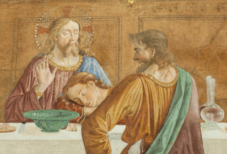 The Cenacolo of Badia Passignano (Last Supper) is a fresco paint by Domenico Ghirlandaio, dated 1476, located in the abbey of San Michele Arcangelo Passignano in Tavarnelle Val di Pesa, Florence, Italy