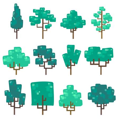 Set of tree in minimal design