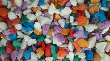 bright: Small colorful stones Stock Photo