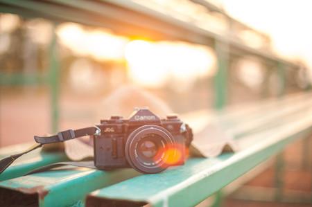 ascetic: camera Stock Photo