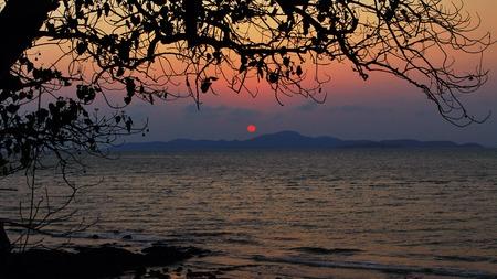 Jomtien Beach Sunset 2 Pattaya Thailand photo