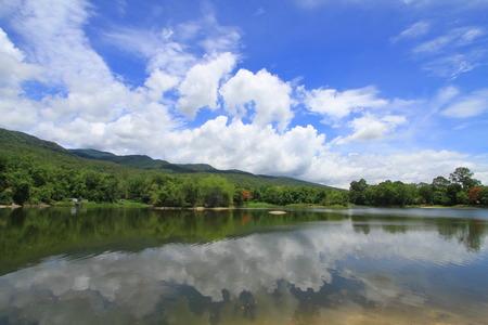 bourn: Sky Clouds Angkaew Chiangmai University Thailand