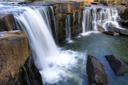 bourn: Tardtone Waterfall Chaiyaphum Thailand Stock Photo