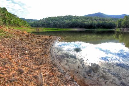 bourn: reflection waterway in mountain Huay Joe Chiangmai Thailand