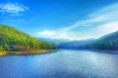 bourn: waterway in mountain Huay Joe Chiangmai Thailand