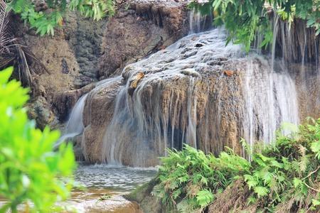 bourn: Seven Girls Waterfall Chet Sao Noi Muak Lek Saraburi Thailand Stock Photo
