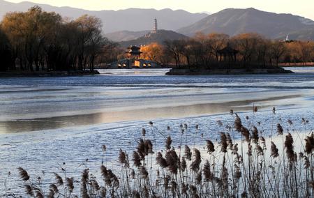 kunming: Sunset scenery at the Kunming Lake