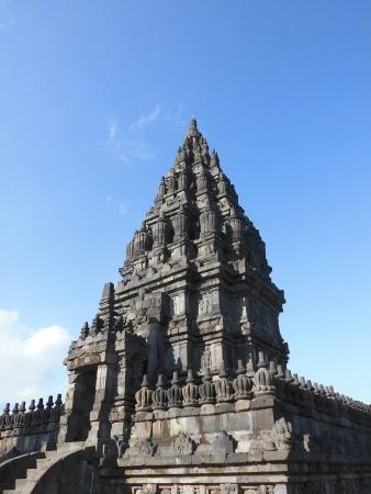 jogjakarta: Candi Prambanan or sometime called Candi Rara Jonggrang is Hindu temple and built in a 9th-century compound in Yogyakarta Central Java, Indonesia