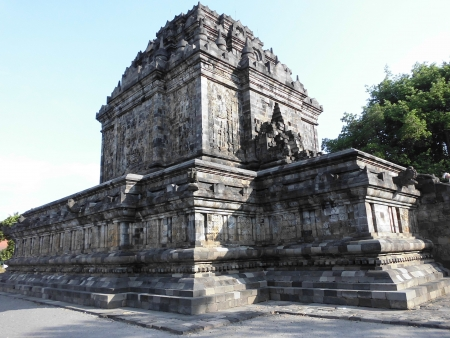 Mendut temple, a budhist temple photo