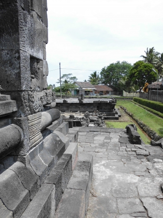 ngawen temple placed in magelang photo