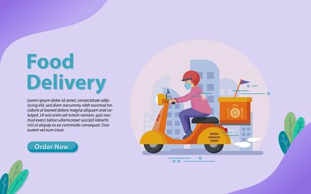 Food delivery is a courier service in which a restaurant