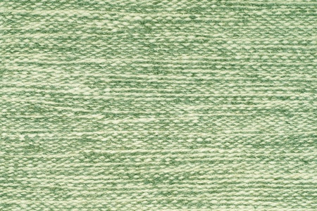 The Green Wool Fabric Texture as Background. photo