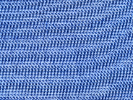 The Blue Cotton Fabric Texture Pattern as Abstract Background.