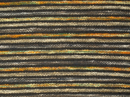 Multicolored fabric texture pattern as abstract background. Stock Photo