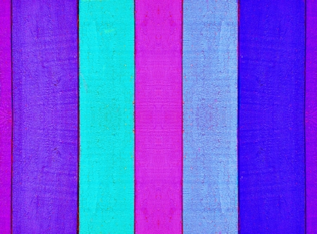 Abstract background.Multicolored wooden fence. Stock Photo - 18676675