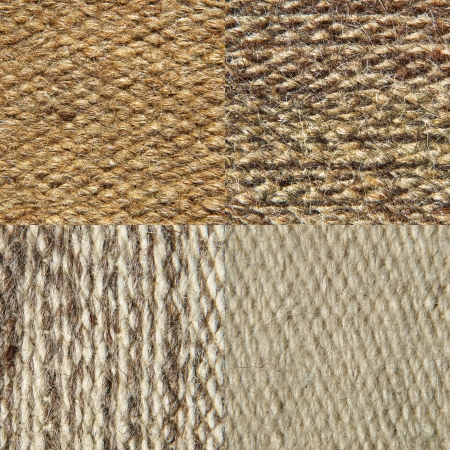 Set of camel wool fabric texture pattern Abstract background  photo