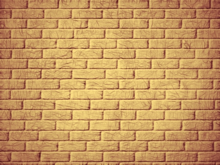 Vintage brick wall background  Digitally generated image  photo