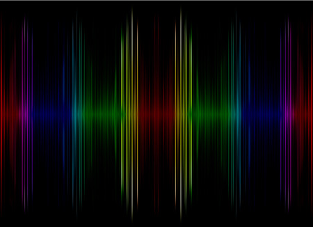 Abstract multicolored sound equalizer as background.Digitally generated image. photo