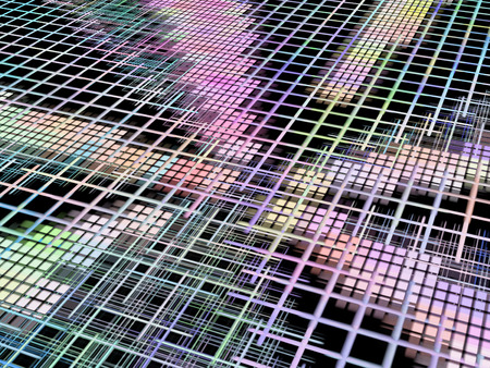 Network concept as abstract background.Digitally generated image. photo