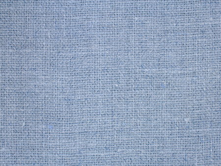 Blue linen texture pattern suitable as background. photo