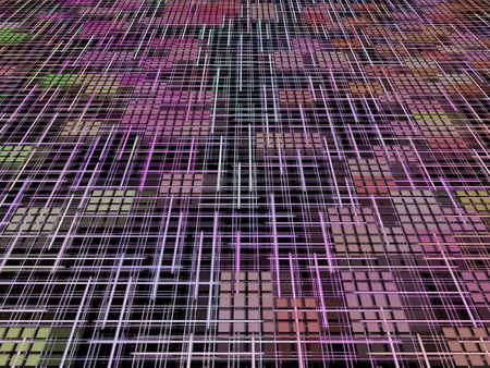 Network and internet concept as abstract background. photo