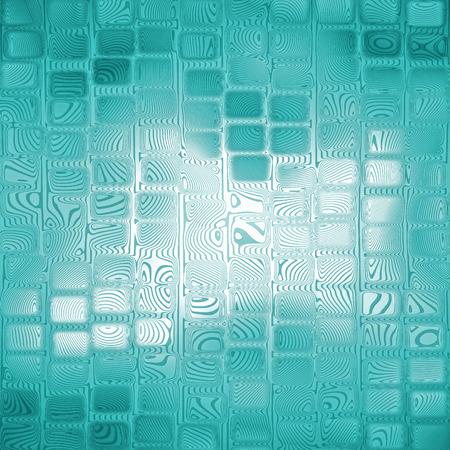 azure: Azure square shape abstract background.Digitally generated image.