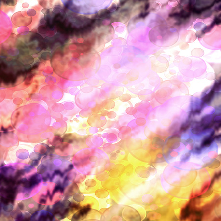 Fairy bokeh abstract multicolored background. photo