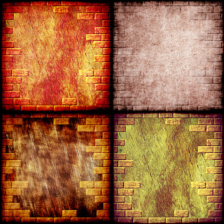 Grunge abstract background collage.Digitally generated image. photo