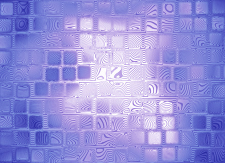 virtual reality simulator: Purple abstract square shape background.Digitally generated image. Stock Photo