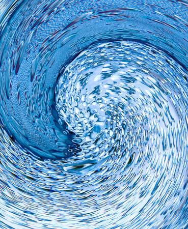 taken: Azure water swirl taken closeup suitable as abstract background.Digitally generated image.