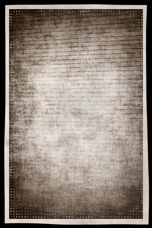 digitally generated image: Monochrome grunge abstract background with film effect border frame. Digitally generated image
