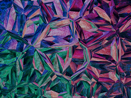 Purple jigsaw puzzle abstract background.Digitally generated image.