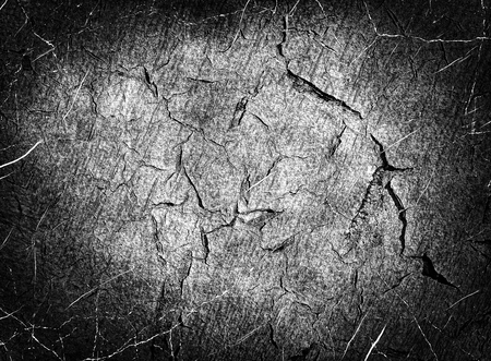 altered: Monochrome scratched texture as abstract background.Digitally altered image. Stock Photo