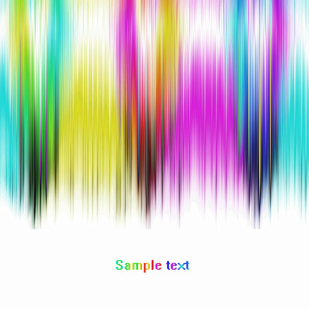 virtual reality simulator: Abstract multicolored striped background.Digitally generated image. Stock Photo