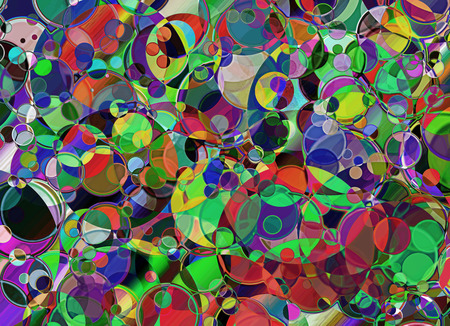 spotty: Spotty multicolored abstract background.Digitally generated image.