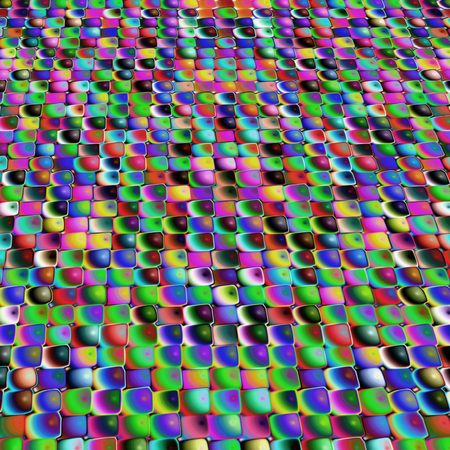 Multicolored mosaic pattern as abstract background.Digitally generated image.