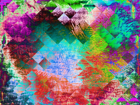 Abstract multicolored background with polygonal geometric shapes.Digitally generated image.