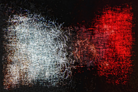 Red and white abstract grunge background.Digitally generated image.