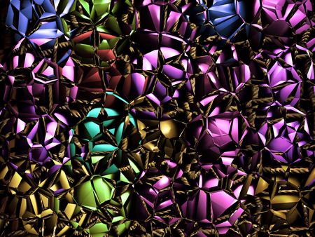 Multicolored kaleidoscope pattern as abstract background.Digitally generated image.