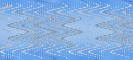waveform: Waveform abstract pattern on blue background.Digitally generated image.