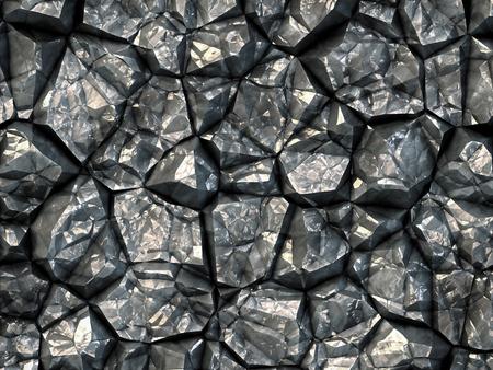 carbon monoxide: Black coal texture taken closeup as background.Digitally generated image.